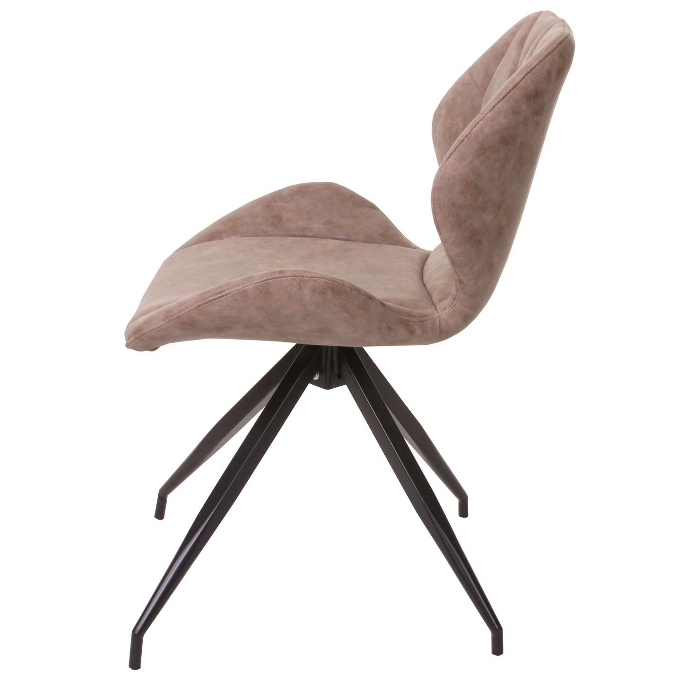 6x esszimmerstuhl hwc b46 lehnstuhl wildleder look. Black Bedroom Furniture Sets. Home Design Ideas