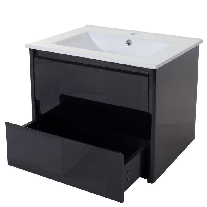 Unterschrank Hwc-B19, Waschbecken Waschtisch Badezimmer, Hochglanz