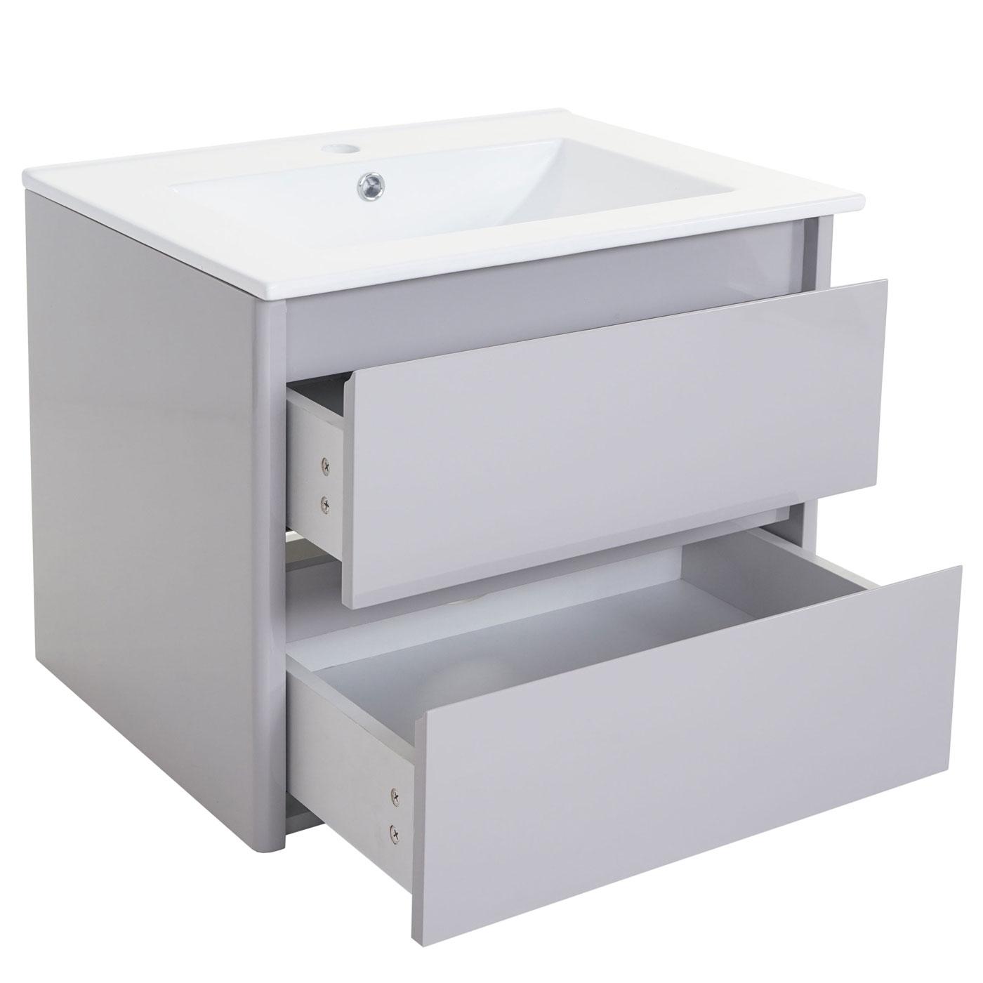 Waschbeckenunterschrankset hwc b19 waschbecken waschtisch for Badezimmer garnituren