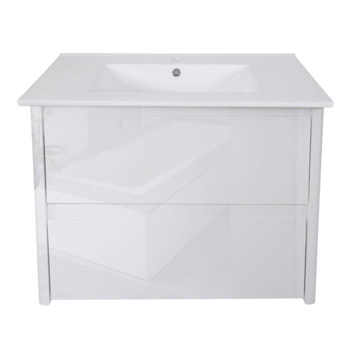 waschbecken unterschrank hwc b19 waschbecken waschtisch badezimmer hochglanz 50x80cm wei. Black Bedroom Furniture Sets. Home Design Ideas