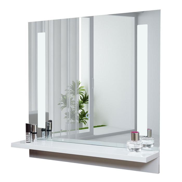 badezimmerset xl hwc c11 waschtisch led wandspiegel 2x h ngeschrank hochglanz wei. Black Bedroom Furniture Sets. Home Design Ideas