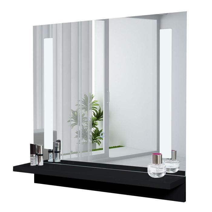 led wandspiegel mit ablage hwc c11 badspiegel badezimmer. Black Bedroom Furniture Sets. Home Design Ideas