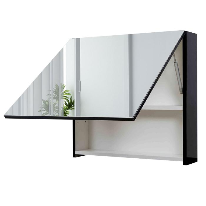 wandspiegel schwarz good wandspiegel brooklyn mit haken schwarz with wandspiegel schwarz cheap. Black Bedroom Furniture Sets. Home Design Ideas