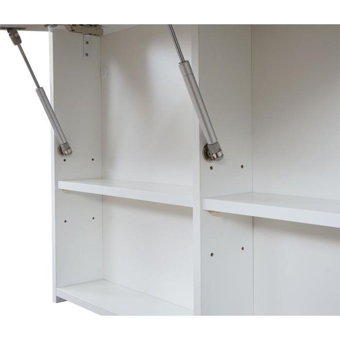 spiegelschrank hwc c11 wandspiegel badspiegel badezimmer aufklappbar hochglanz 58x90cm wei. Black Bedroom Furniture Sets. Home Design Ideas