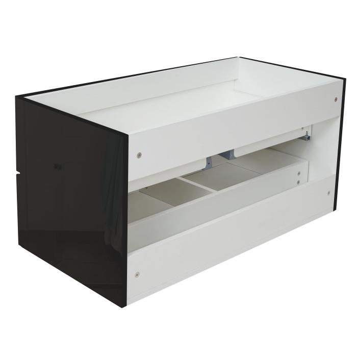 badezimmerset xl hwc c11 waschtisch spiegelschrank h ngeschrank hochglanz schwarz. Black Bedroom Furniture Sets. Home Design Ideas