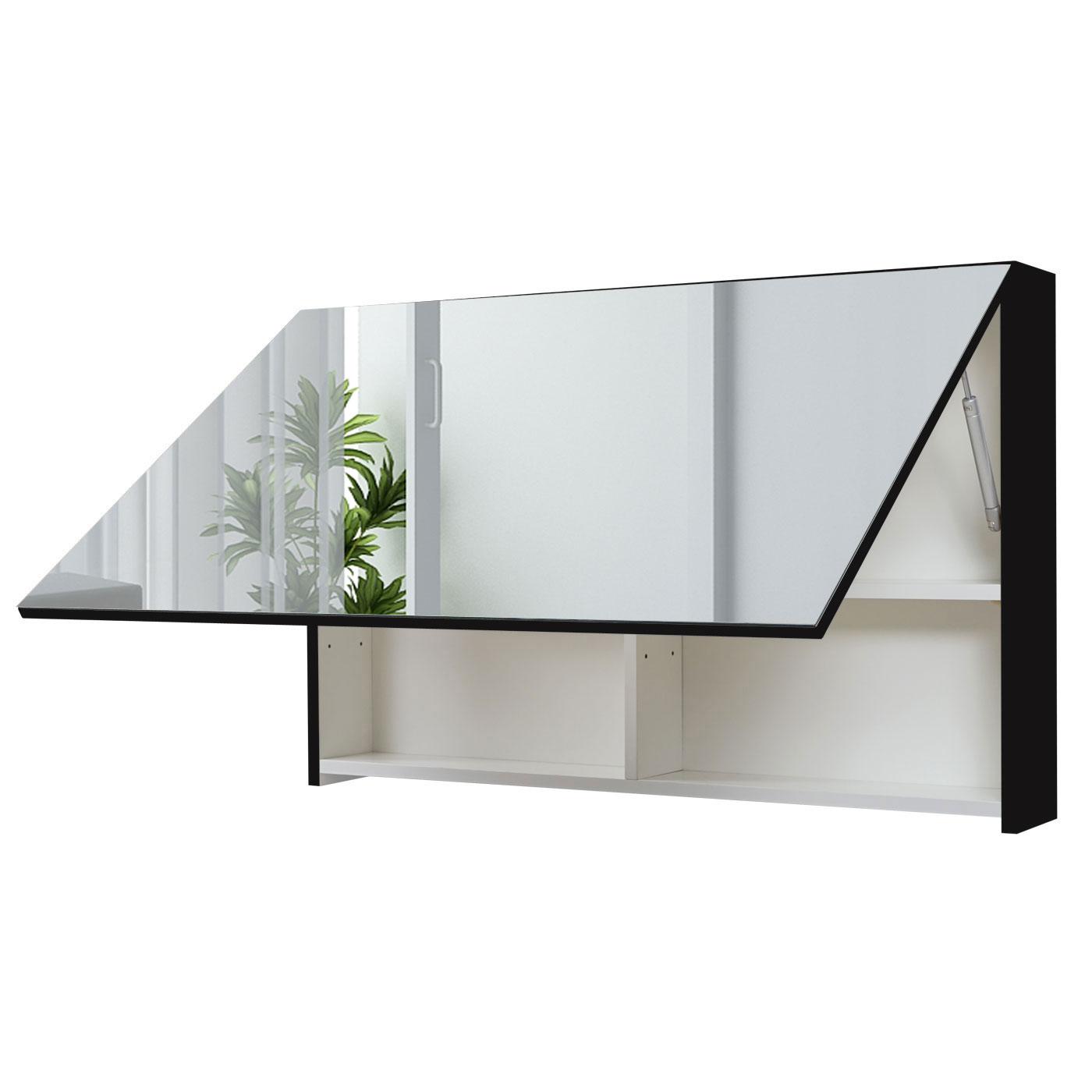Spiegelschrank hwc c11 wandspiegel badspiegel badezimmer for Spiegel nachrichten heute