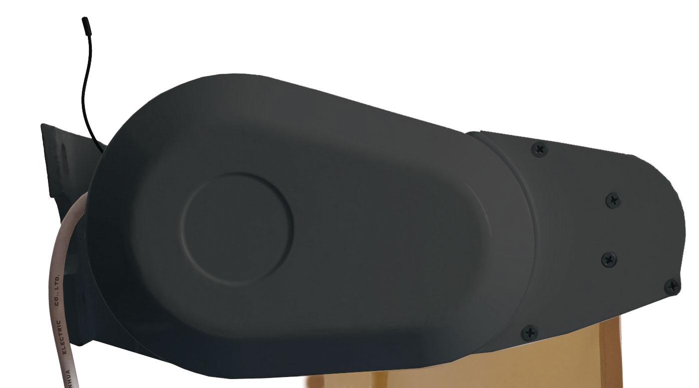 Elektrische Vollkassetten Markise T124 5x3m Ausfahrbarer