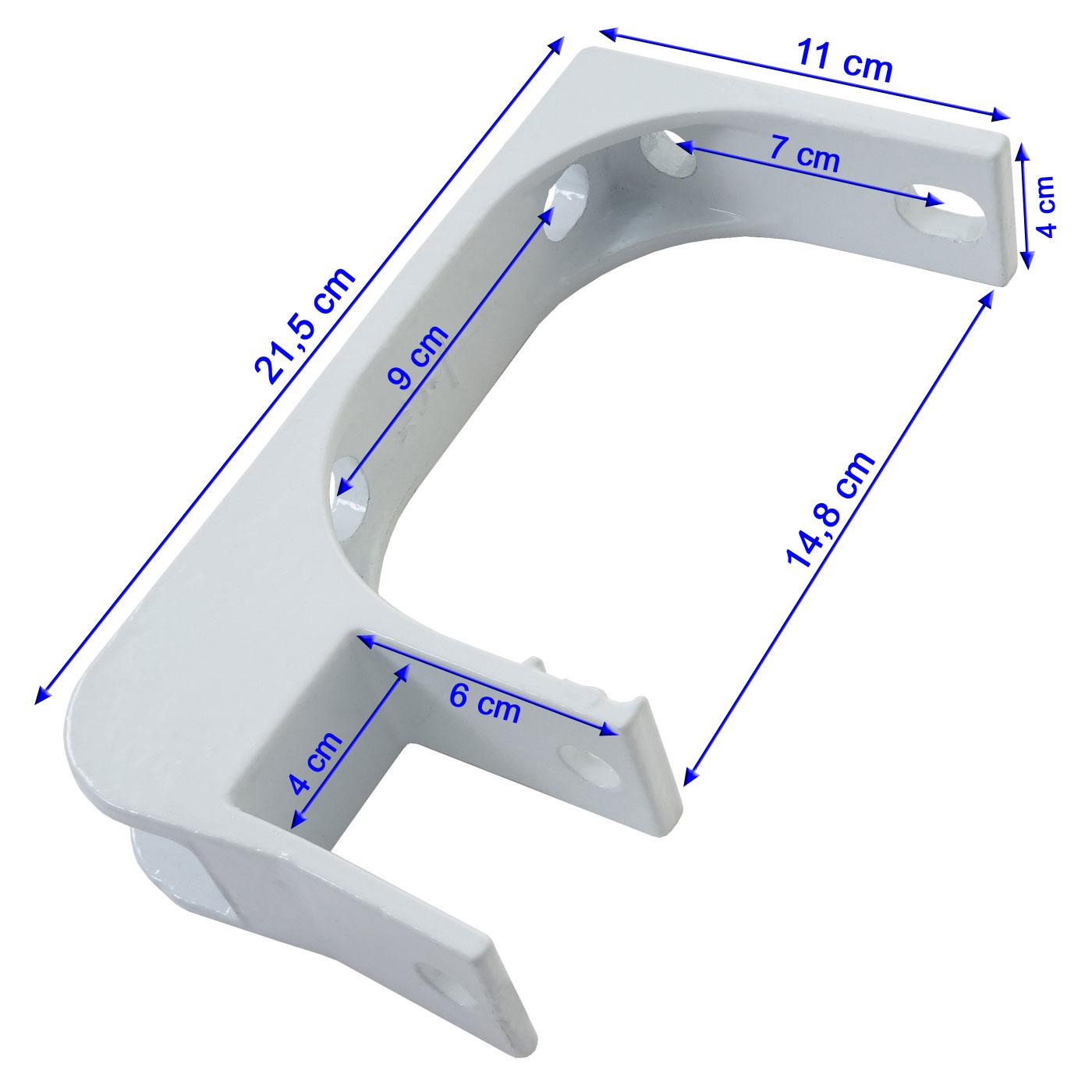 4x wandhalterung f r markise t792 deckenhalterung. Black Bedroom Furniture Sets. Home Design Ideas