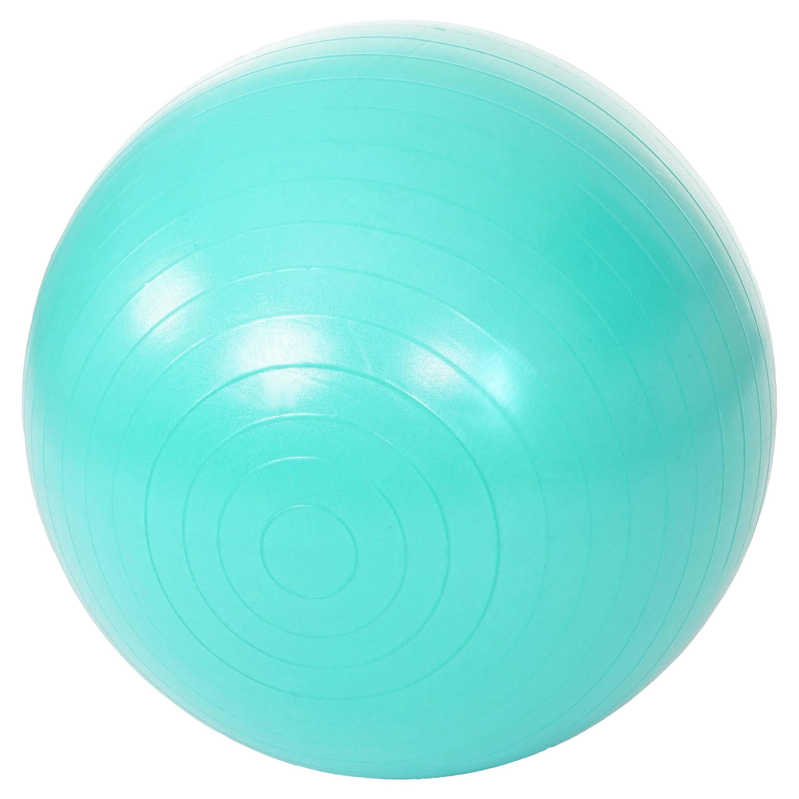 Sitzball Yogaball Fitnessball Ø65cm türkis Gymnastikball Motala