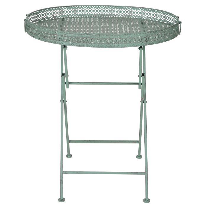 klapptisch hwc c39 gartentisch klappbar metall antik gr n. Black Bedroom Furniture Sets. Home Design Ideas