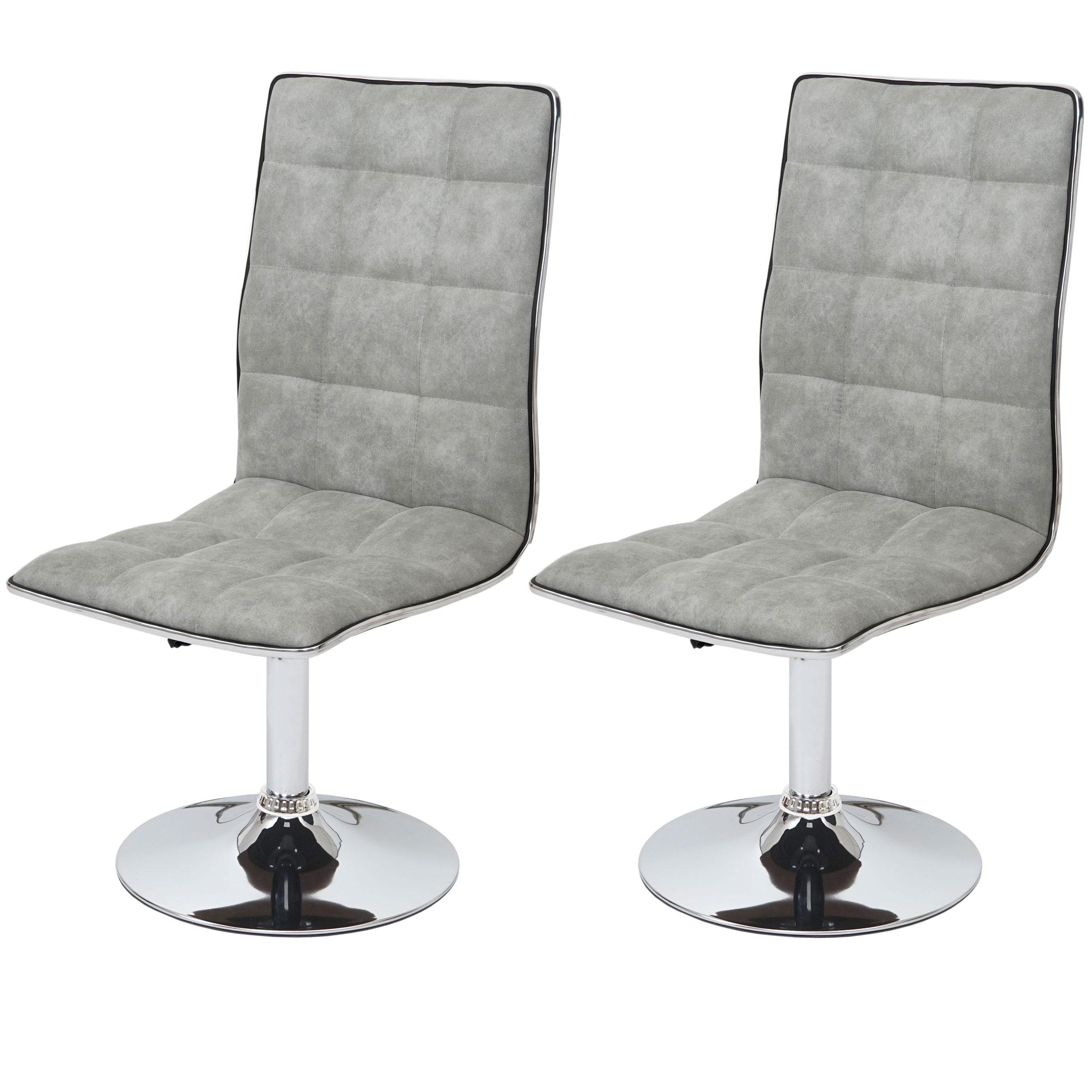 2x esszimmerstuhl hwc c41 stuhl lehnstuhl kunstleder oder textil ebay. Black Bedroom Furniture Sets. Home Design Ideas