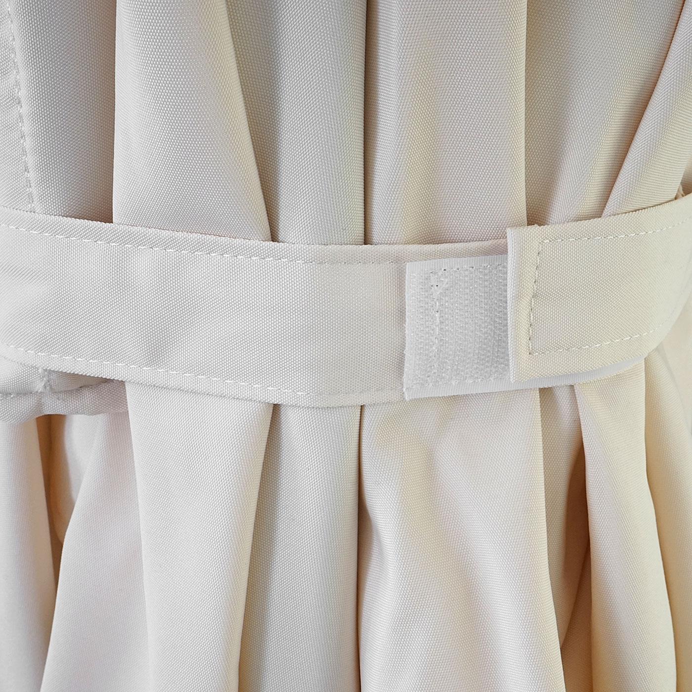 luxus sonnenschirm marktschirm gartenschirm 3x3m 4 24m polyester alu 10kg creme ohne. Black Bedroom Furniture Sets. Home Design Ideas