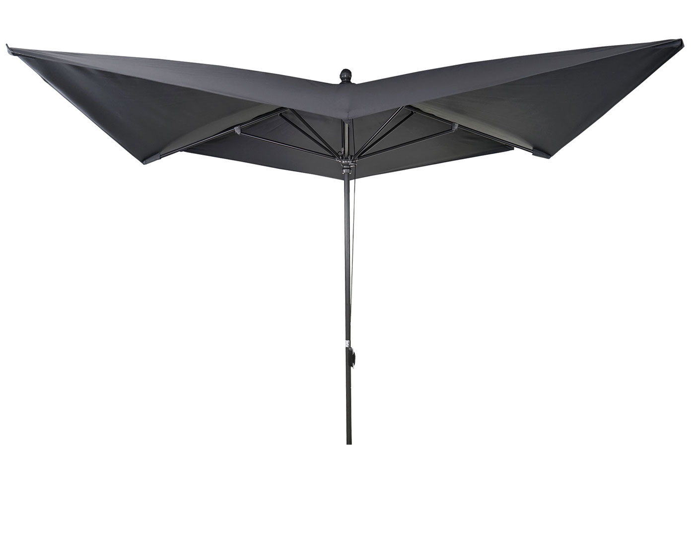 luxus sonnenschirm marktschirm gartenschirm 3x3m 4 24m. Black Bedroom Furniture Sets. Home Design Ideas