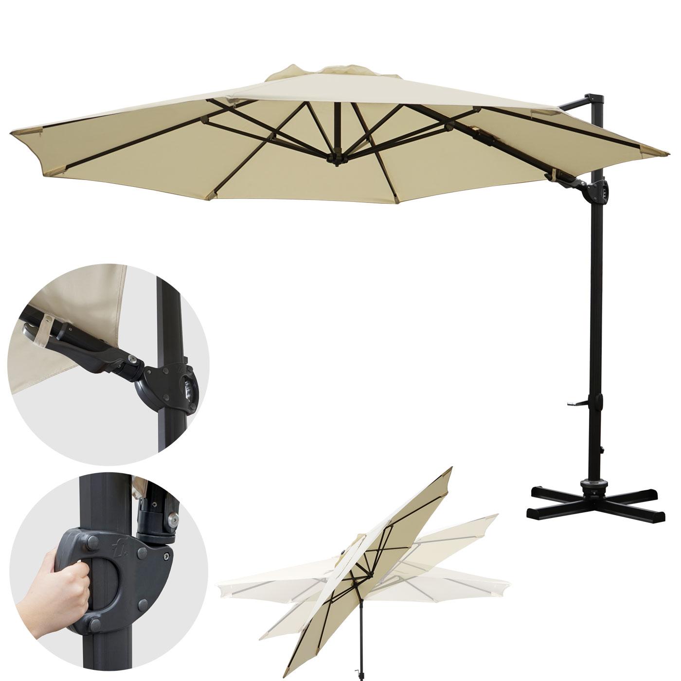 luxus ampelschirm aus holz gartenschirm und sonnenschirm holz heute. Black Bedroom Furniture Sets. Home Design Ideas