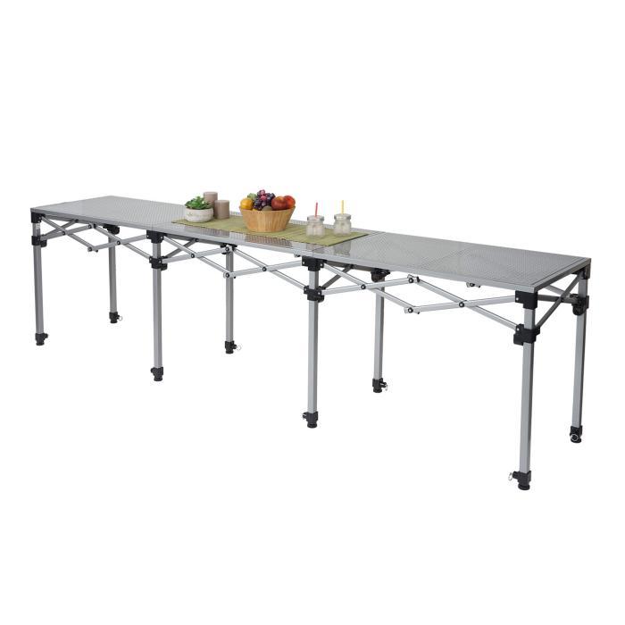 Multifunktionstisch HWC-A23, Tisch Klapptisch Bartisch Werktisch ...