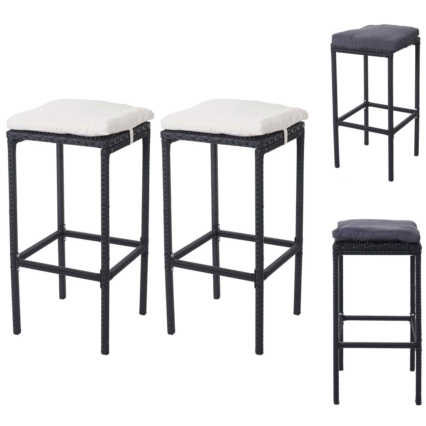 polyrattan barhocker machen sie den preisvergleich bei. Black Bedroom Furniture Sets. Home Design Ideas