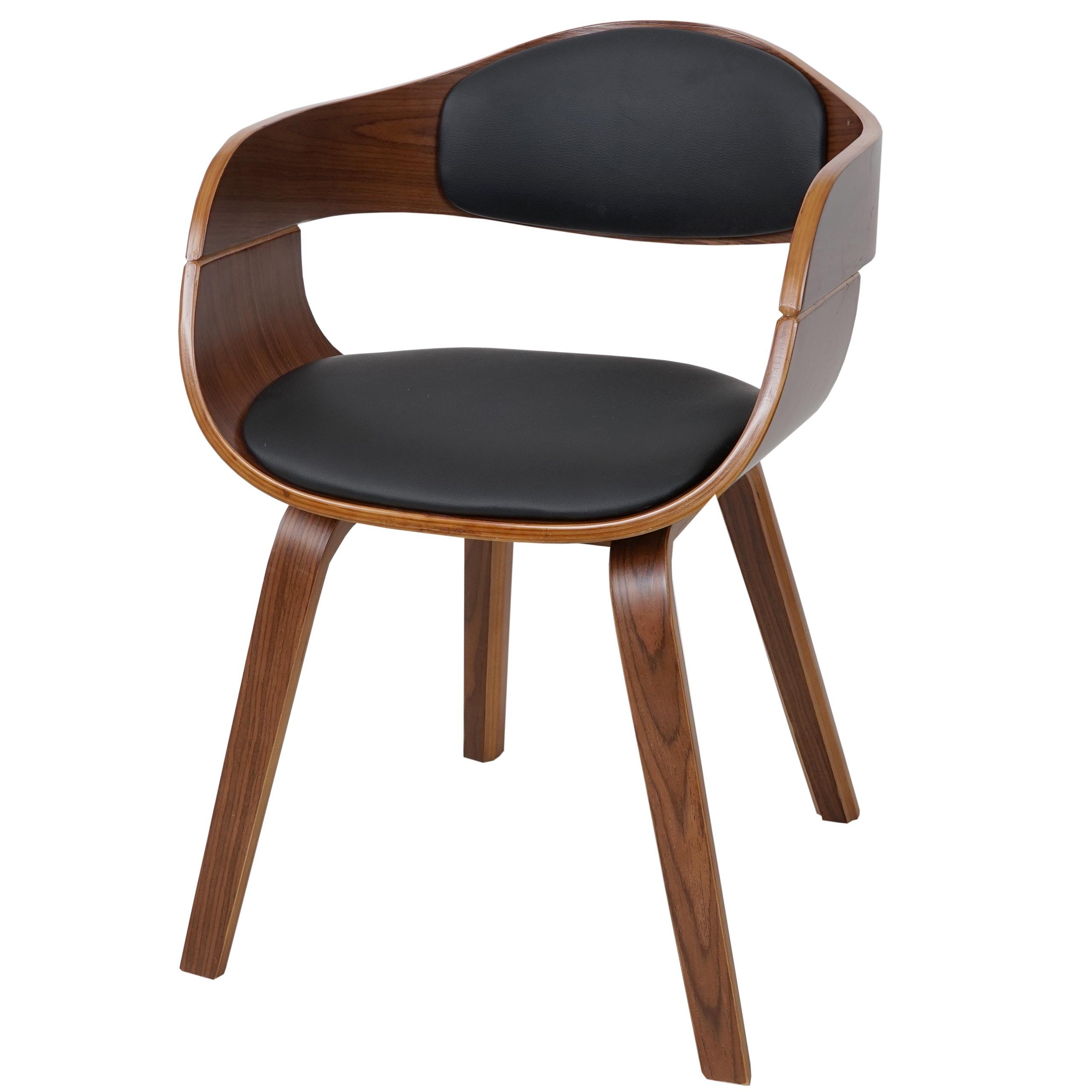 Esszimmerstuhl HWC A47 Tisch  & Stuhl Sets Holz Bugholz Retro Design Walnussoptik