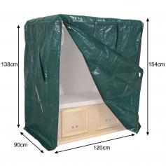 poly rattan strandkorb hwc a11 volllieger ostsee nordsee beige. Black Bedroom Furniture Sets. Home Design Ideas