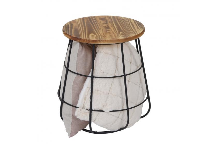 beistelltisch mit stauraum hwc a80 nachttisch kaffeetisch. Black Bedroom Furniture Sets. Home Design Ideas