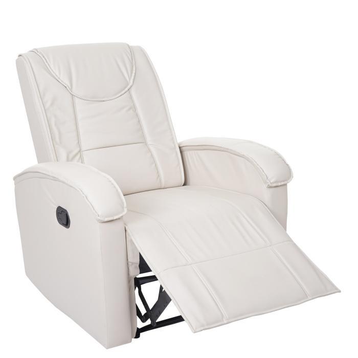 Fernsehsessel Hwc T964 Relaxsessel Sessel Kunstleder 140kg