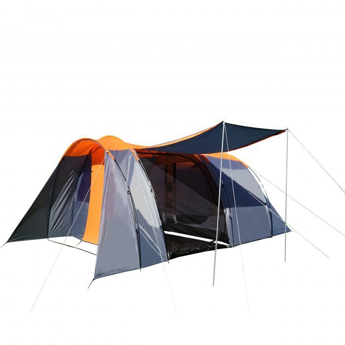 Campingzelt Hwc A99 6 Mann Zelt Kuppelzelt Festival Zelt 6