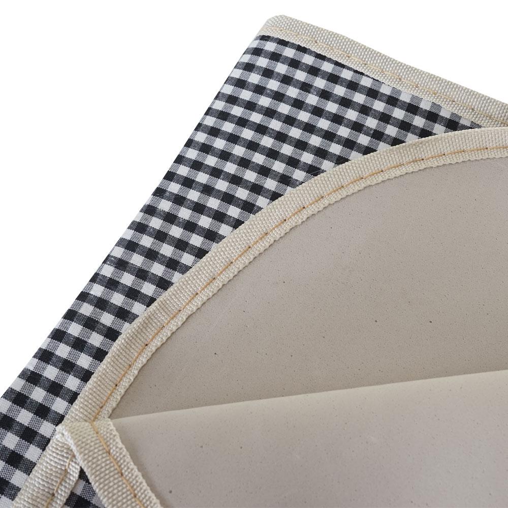 picknickkorb set hwc b24 f r 4 personen porzellan edelstahl schwarz wei ebay. Black Bedroom Furniture Sets. Home Design Ideas