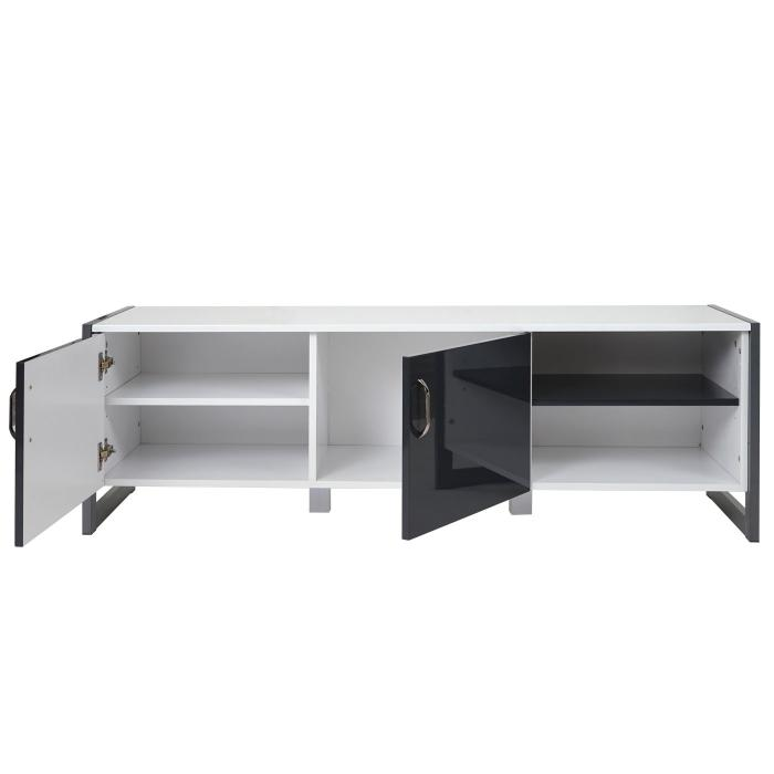 tv rack hwc b27 fernsehtisch lowboard hochglanz. Black Bedroom Furniture Sets. Home Design Ideas