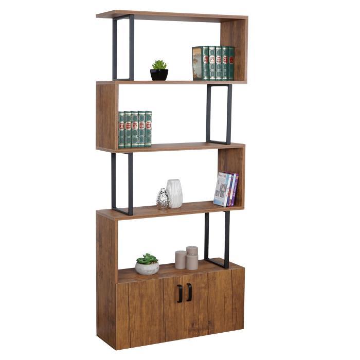 b cherregal hwc a27 regal standregal raumteiler wohnregal. Black Bedroom Furniture Sets. Home Design Ideas
