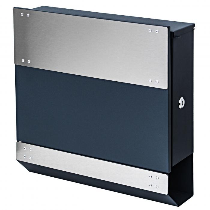 briefkasten hwc b33 wandbriefkasten postkasten. Black Bedroom Furniture Sets. Home Design Ideas