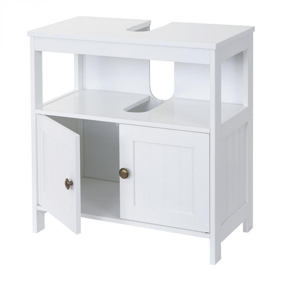 Waschbeckenunterschrank Mcw B63 Badschrank Badezimmer 60x60x30cm
