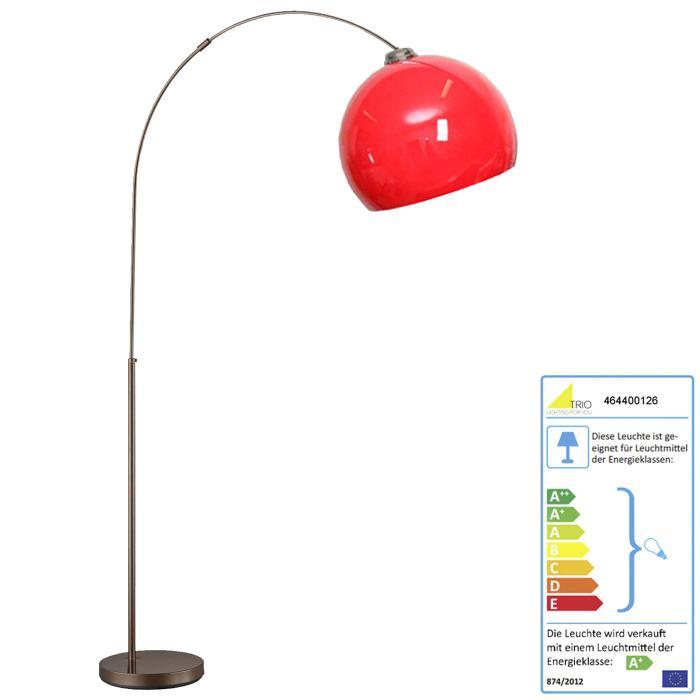 Trio LED Bogenlampe RL167, Stehleuchte Standleuchte Bogenleuchte ...