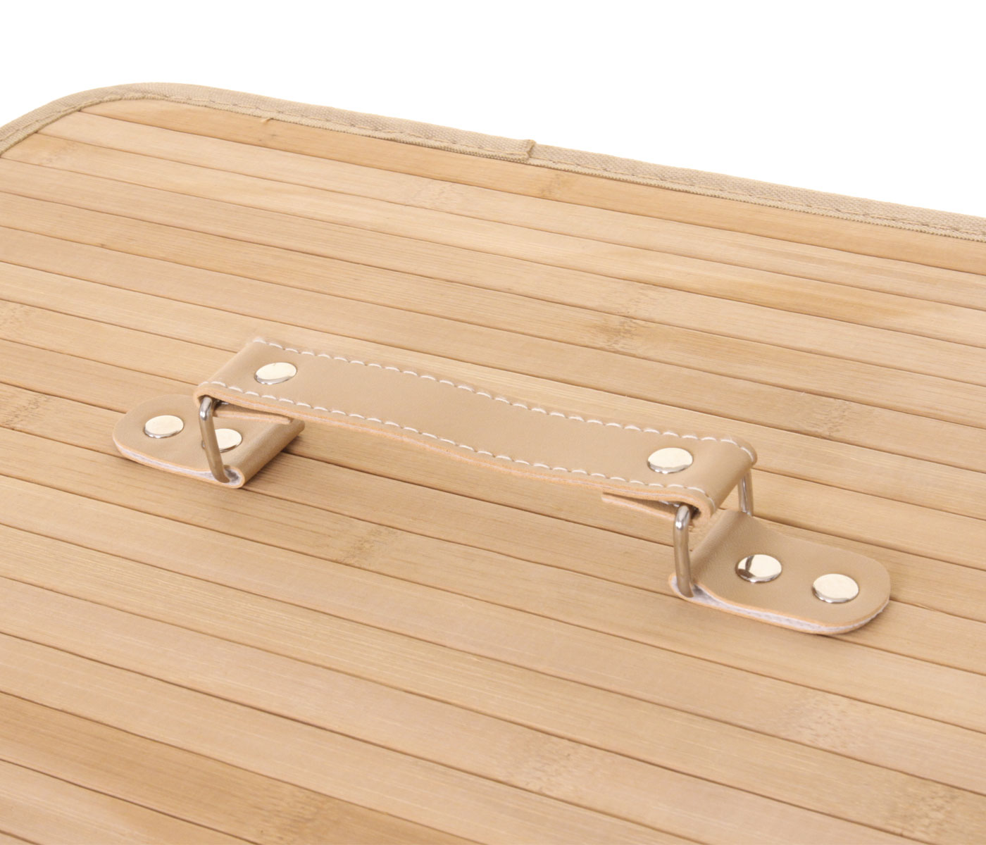 w schekorb hwc c21 laundry w schebox w schesammler w schebeh lter bambus 2 f cher 63x55x34cm. Black Bedroom Furniture Sets. Home Design Ideas