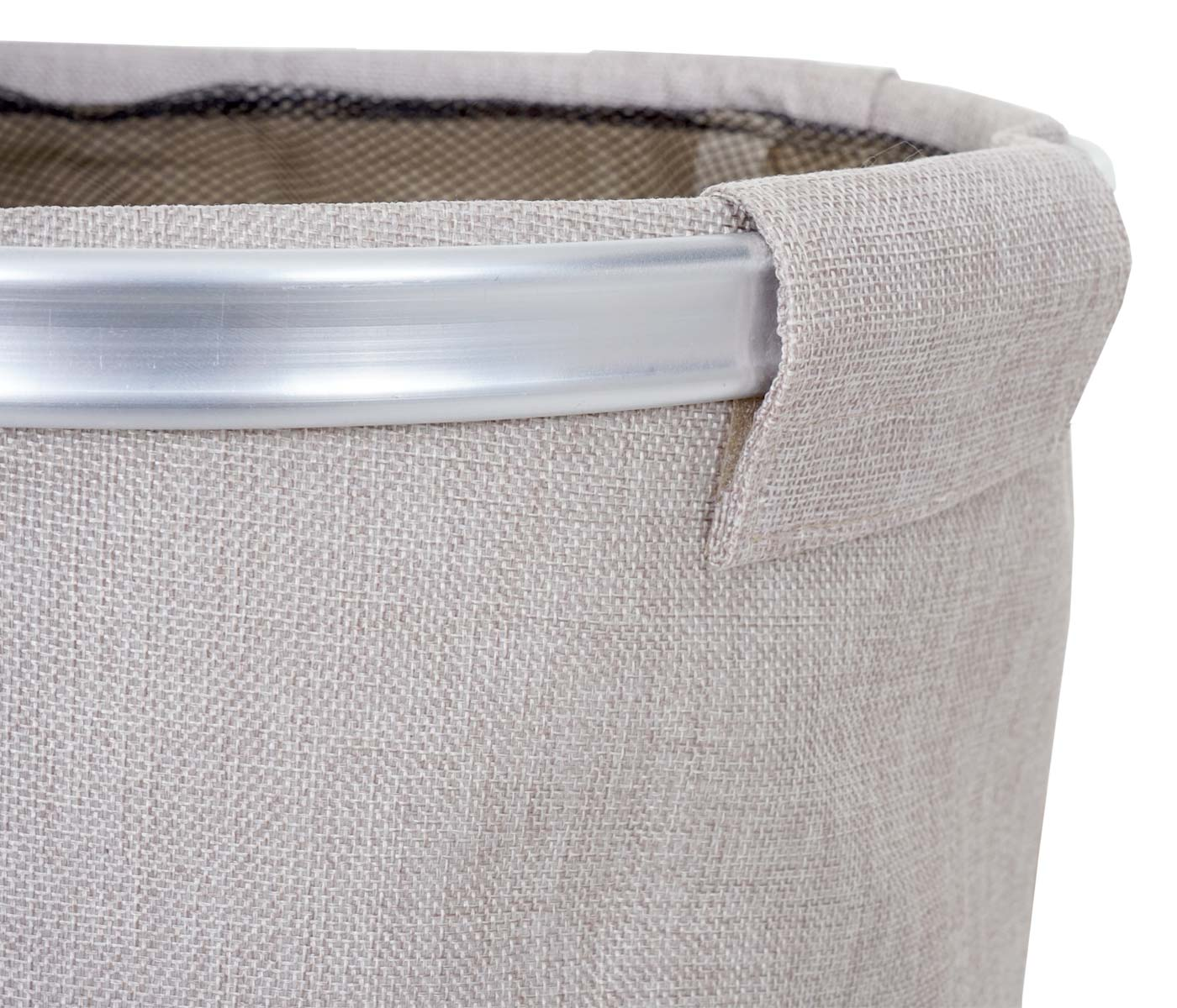 Aluminiumgestell mit Lasche und Klettverschluss Wäschesammler HWC-C34