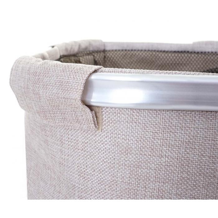 w schesammler hwc c34 laundry w schebox w schekorb w schebeh lter mit netz 2 f cher 56x49x30cm. Black Bedroom Furniture Sets. Home Design Ideas