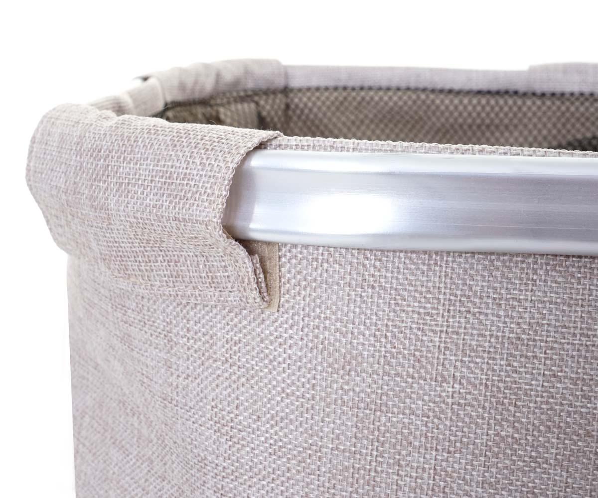 Aluminiumrand mit Lasche Wäschesammler HWC-C34
