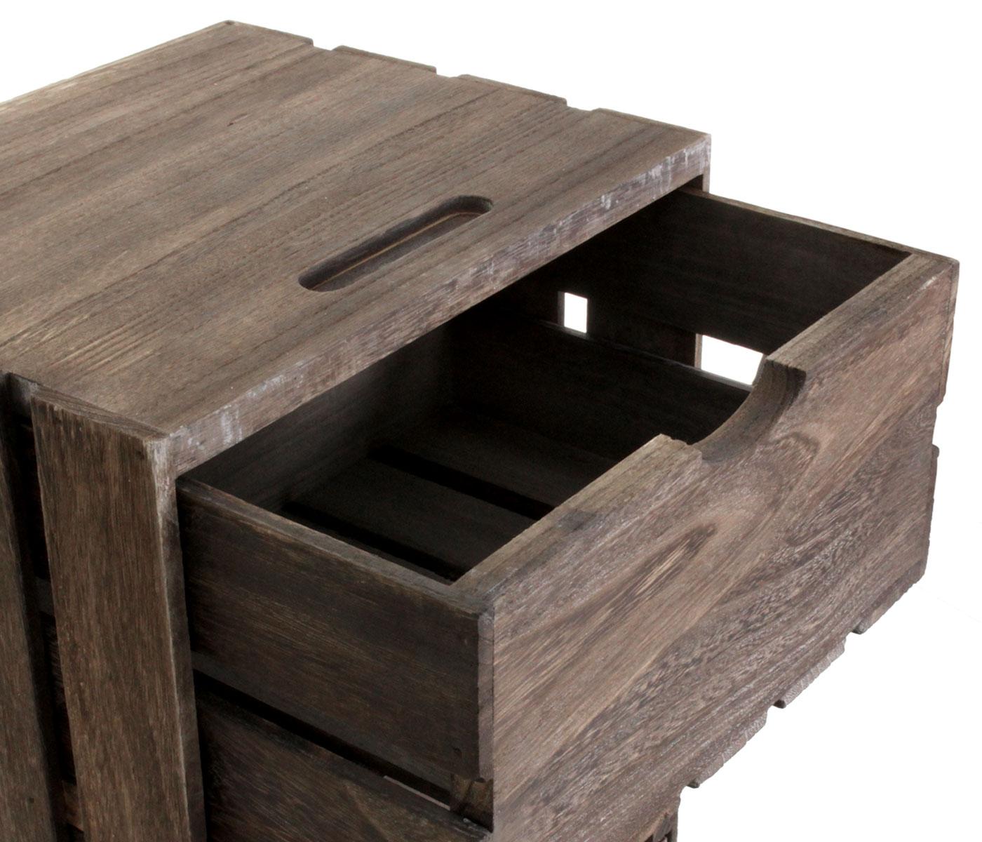 Holzschrank HWC-C62