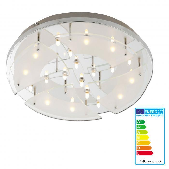 paul neuhaus 20 flammige deckenleuchte prado deckenlampe eco inkl halogen leuchtmittel. Black Bedroom Furniture Sets. Home Design Ideas