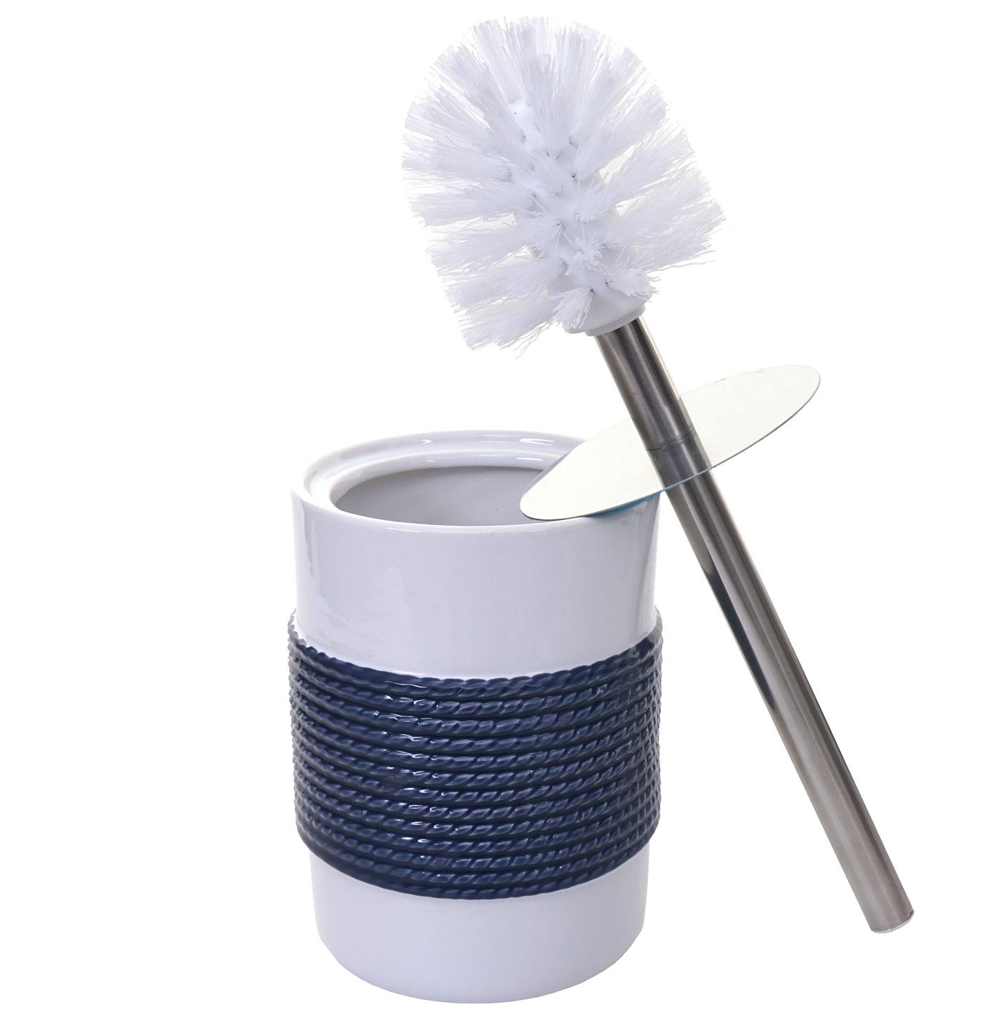 Toilettenbürstenhalter HWC-C73 blau/weiss