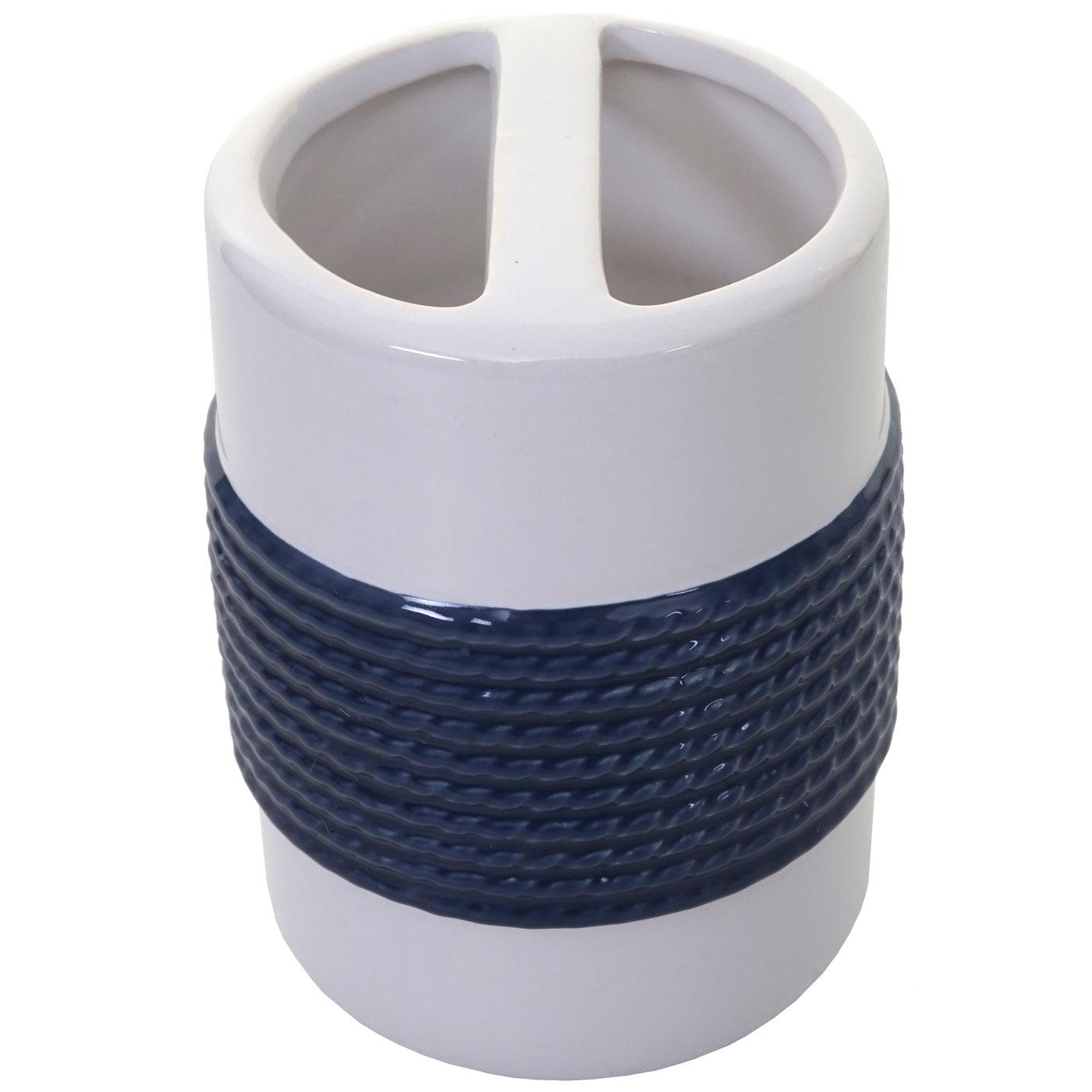 Zahnbürstenhalter HWC-C73 blau/weiss