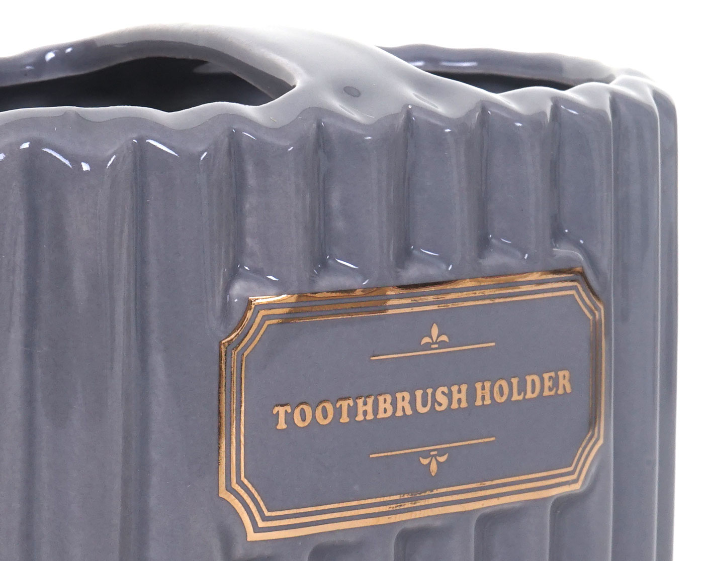 Zahnbürstenhalter HWC-C96 grau/gold