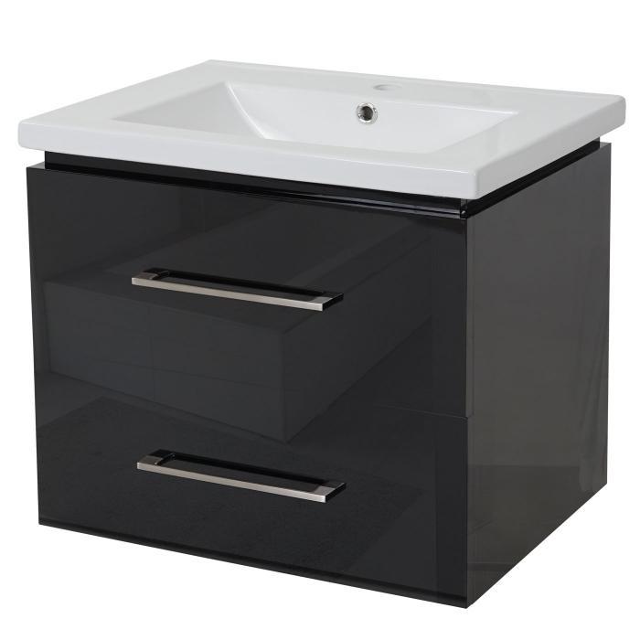 premium waschbecken unterschrank hwc d16 30mm waschbecken waschtisch schubladen hochglanz. Black Bedroom Furniture Sets. Home Design Ideas