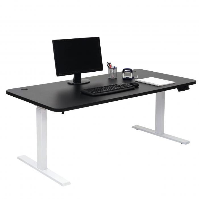 Schreibtisch Hwc D40 Burotisch Computertisch Elektrisch