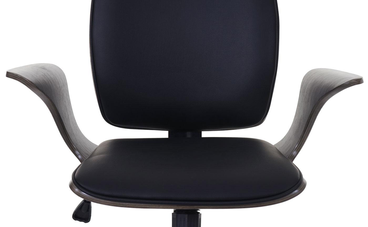 Bürostuhl HWC-C54 Detailbild Sitz- und Rückenfläche