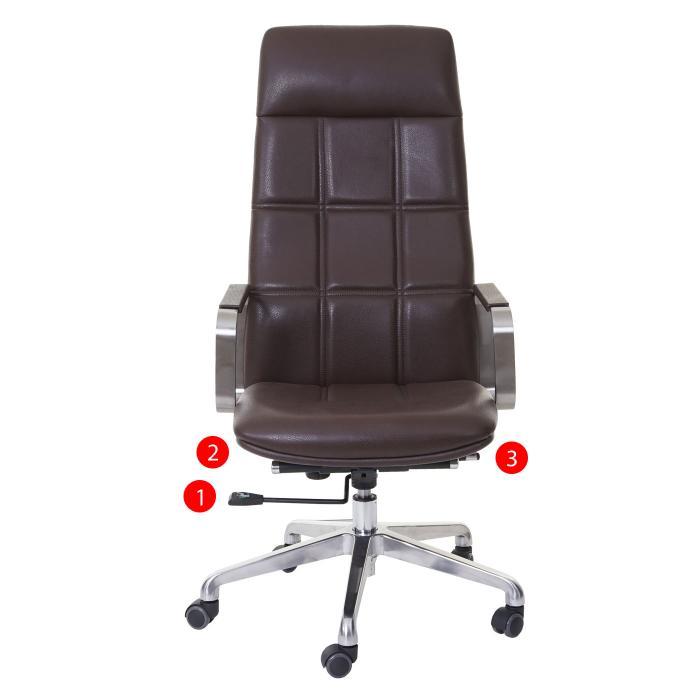 b rostuhl hwc a57 schreibtischstuhl drehstuhl voll leder. Black Bedroom Furniture Sets. Home Design Ideas