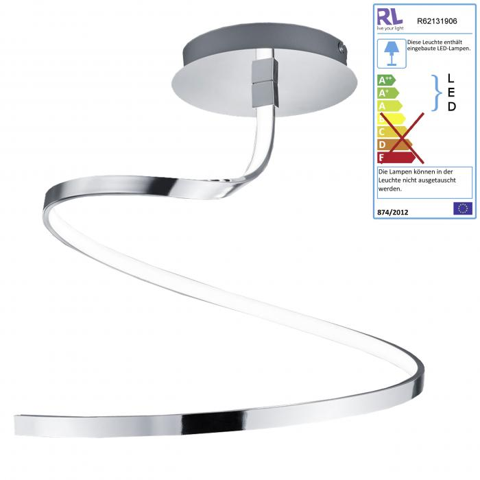 Reality | Trio LED Deckenleuchte RL165, Deckenlampe, inkl ...