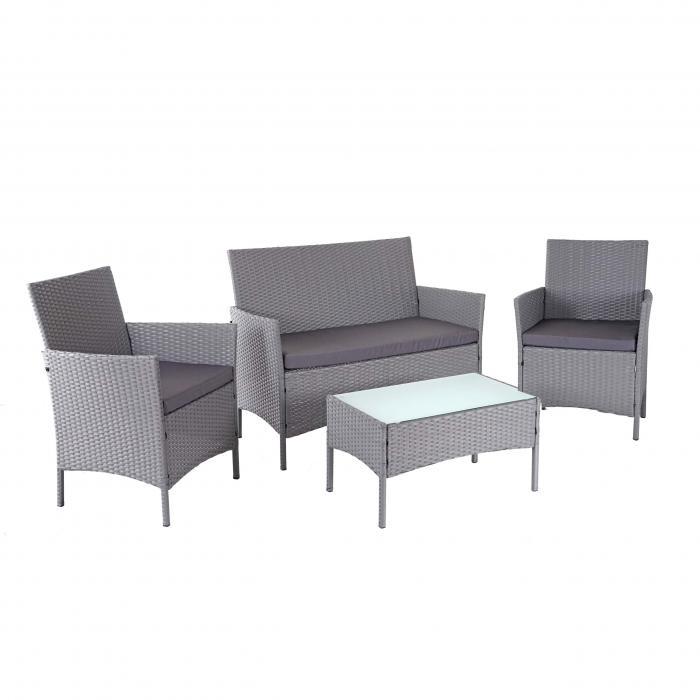 Poly Rattan Garten Garnitur Hwc D82 Sitzgruppe Lounge Garnitur