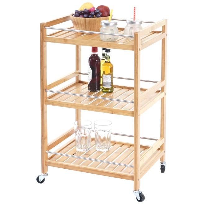 Küchenwagen Loft Barwagen Teewagen Beistelltisch Servierwagen Hausbar Dinett