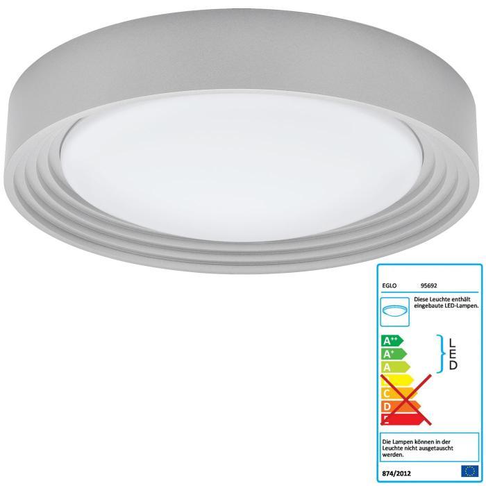 EGLO LED Deckenleuchte RL189, Deckenlampe Badleuchte, inkl ...