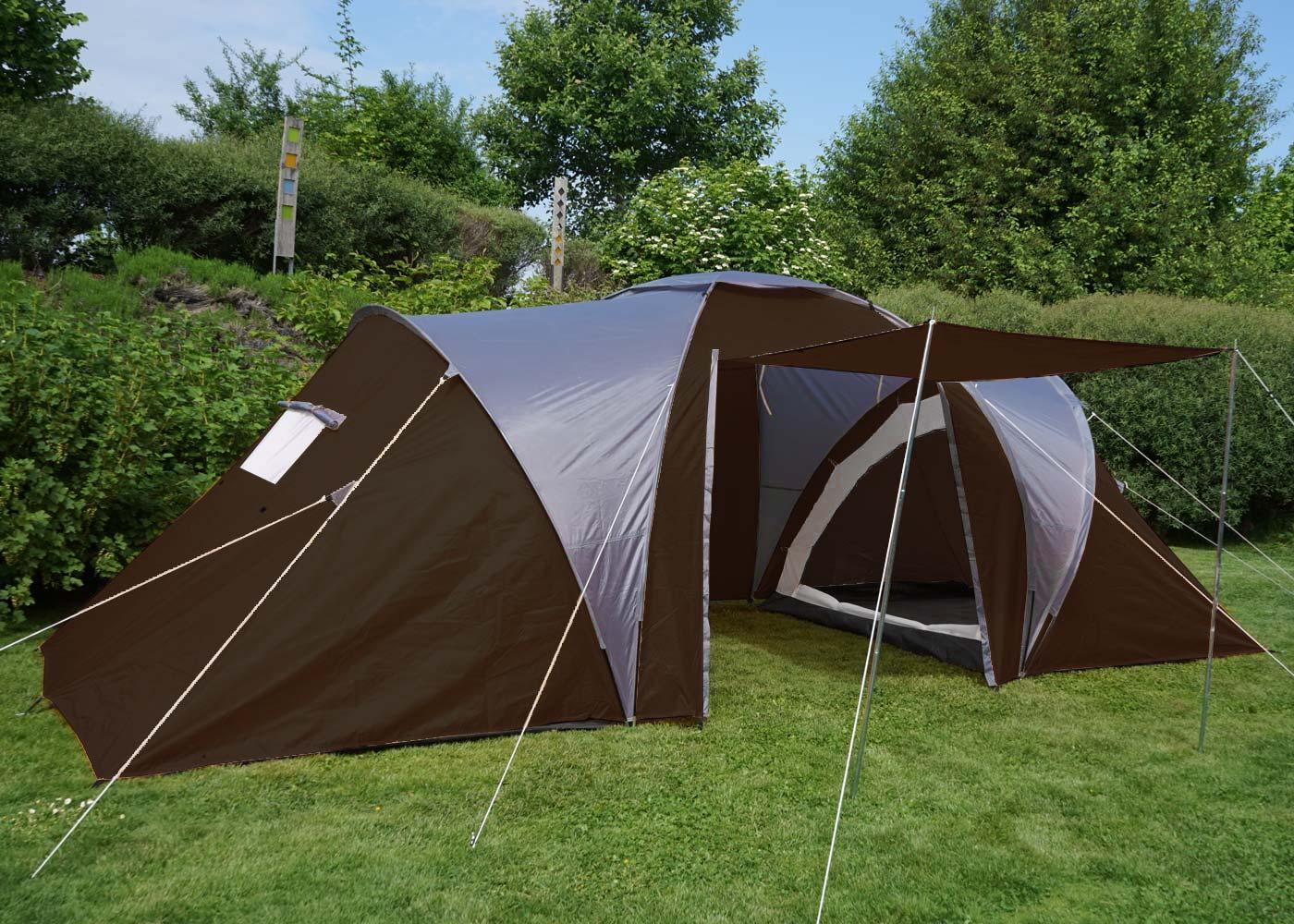 campingzelt loksa 6 mann zelt kuppelzelt igluzelt. Black Bedroom Furniture Sets. Home Design Ideas