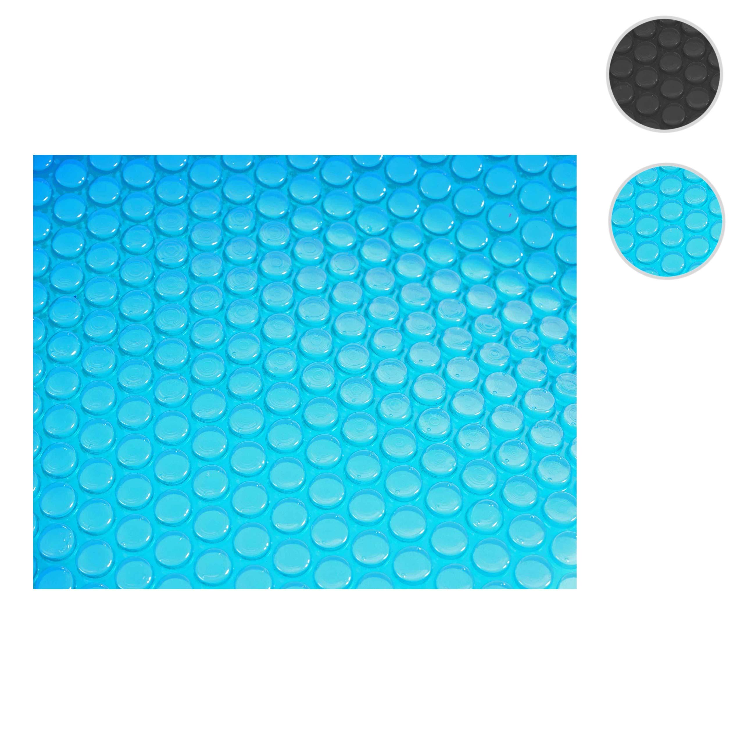 Mendler Pool-Abdeckung Wärmeplane Abdeckplane Solarplane Solarabdeckung, Stärke: 200 µm ~ Variantenangebot 16701